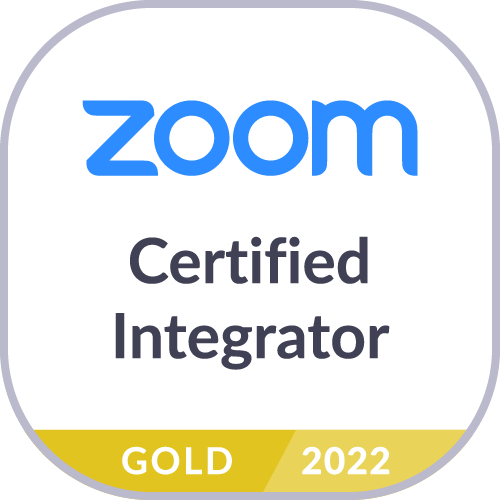 Zoom gold logo