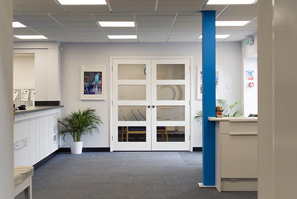 MVS office entrance