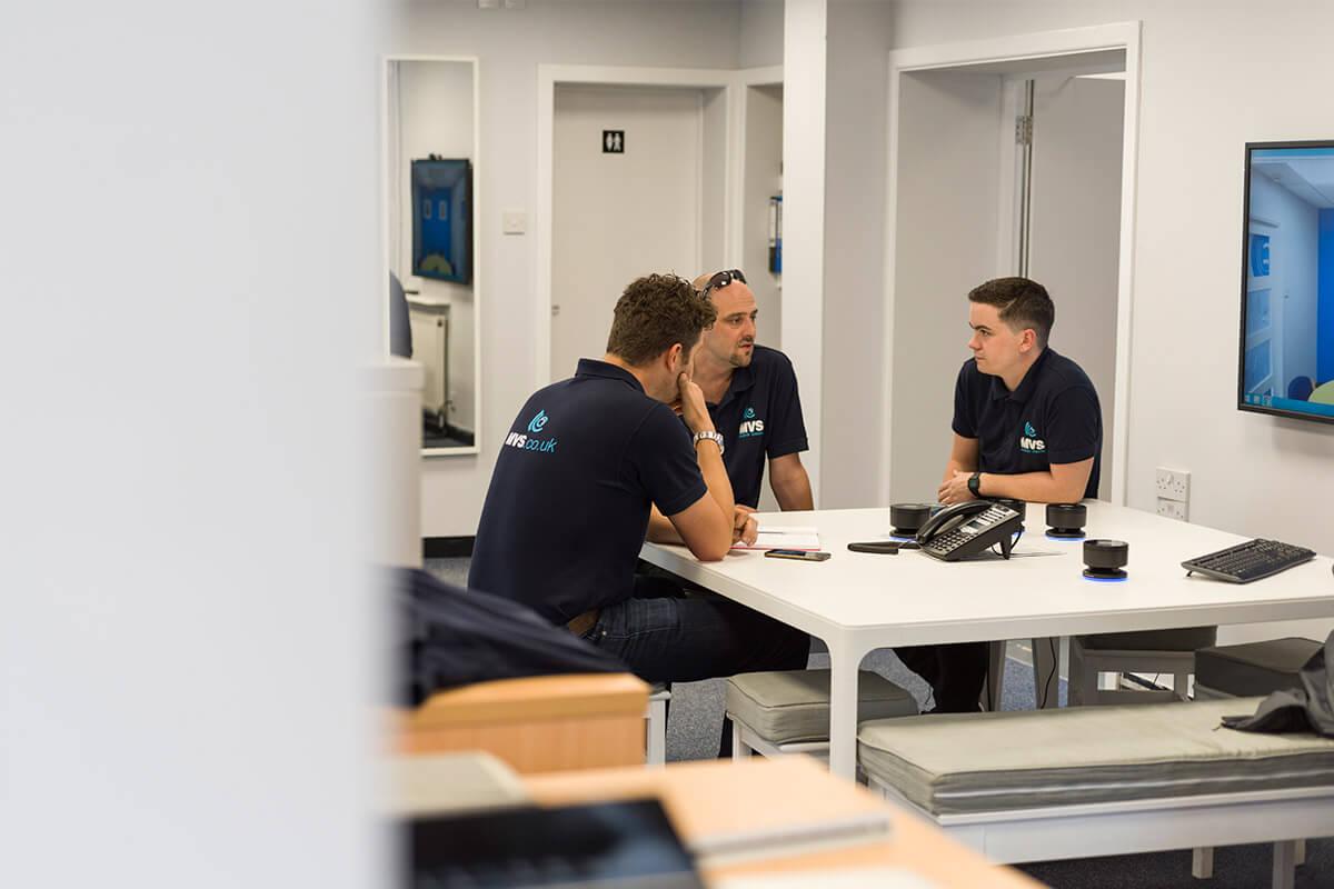MVS team meeting