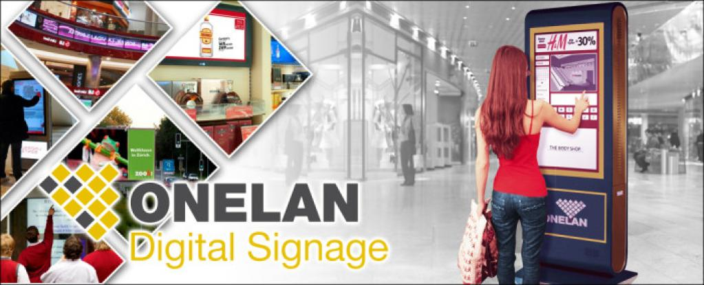 Onelan Digital Signage Solution installed by MVS Audio Visual Solutions