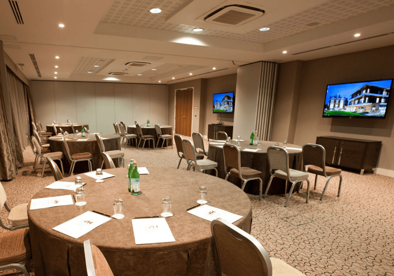 Meeting rooms AV at the Wivenhoe Hotel by MVS Audio Visual