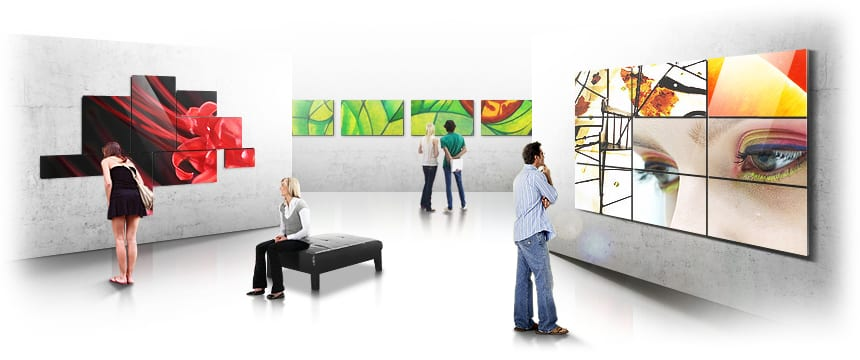 Magic Info Video Wall by MVS Audio Visual Solutions