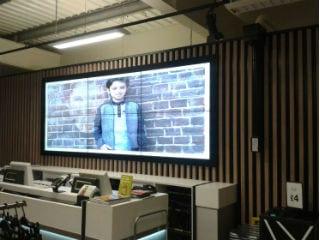 Tesco Video Wall