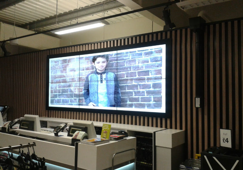 Video Walls - Tesco