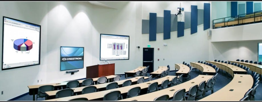 Education AV solutions installed by MVS Audio Visual Solutions