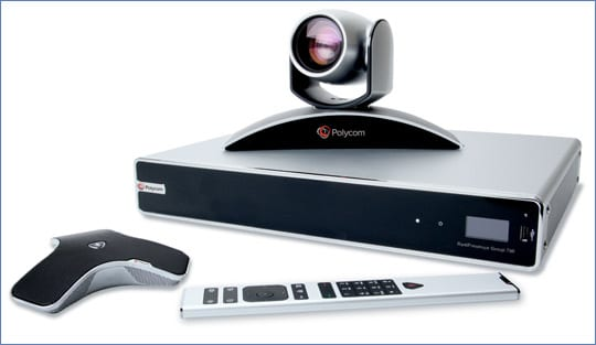 Polycom realpresence group 700 from MVS Audio Visual Solutions