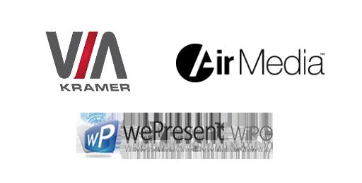 MVS Audio Visual Sysyems including Air Media, WePresent WiPG & VIA Kramer.