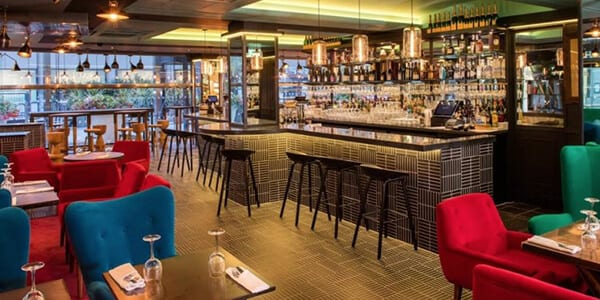 Restaurant music system at Le Restaurant da Paul, London installed by MVS AV