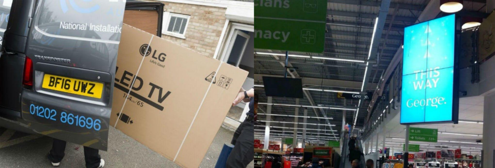 commercial displays vs consumer tvs