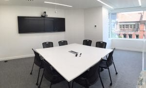 Meeting room AV - Trainline