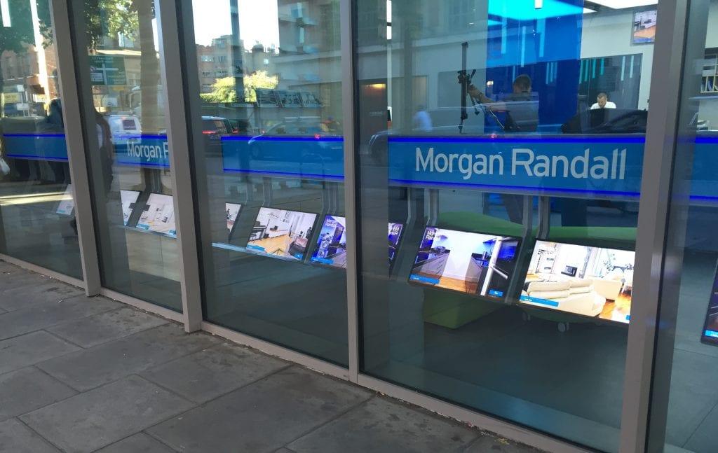 Morgan Randall signage