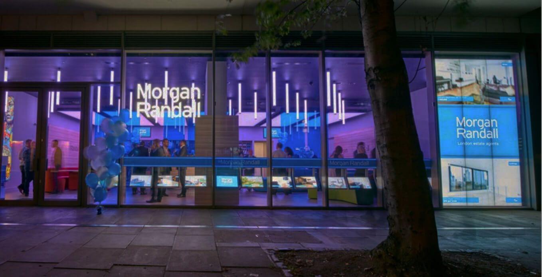 Morgan Randall video wall installation