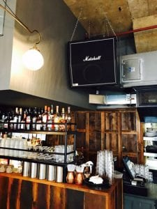 Bose speakers at Tandoor Chop House
