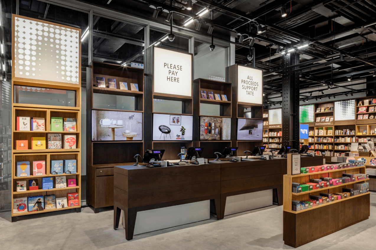 Retail audio visual installation
