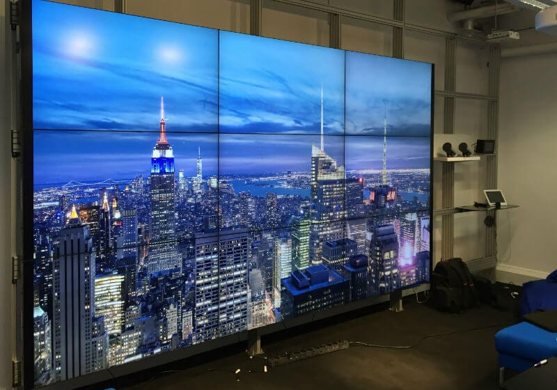 successful commercial video wall solutions with MVS