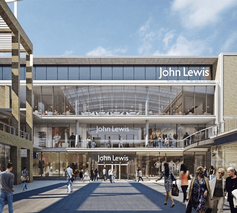 MVS work with JLP Group new store in Oxford