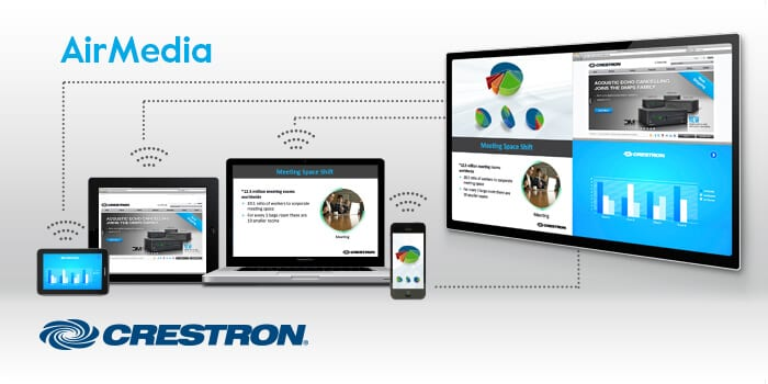 Crestron AirMedia wireless presentation system