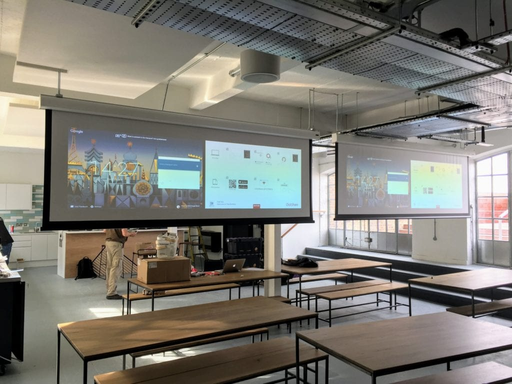 Transferwise presentation space