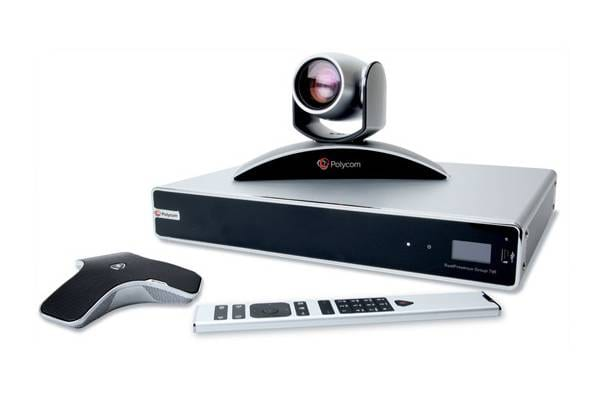 Polycom video conferencing equipment