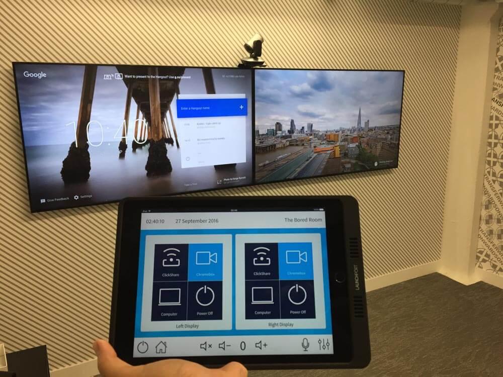 Wireless presentation AV