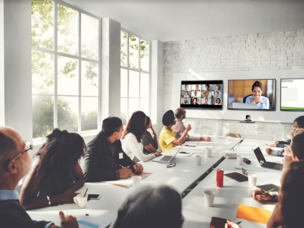Zoom video conferencing transforms business communications
