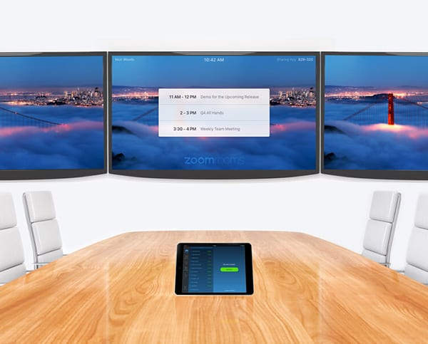 Zoom video conferencing with Zoom rooms by MVS Audio Visual