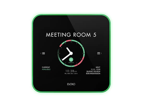 Evoko room booking systems