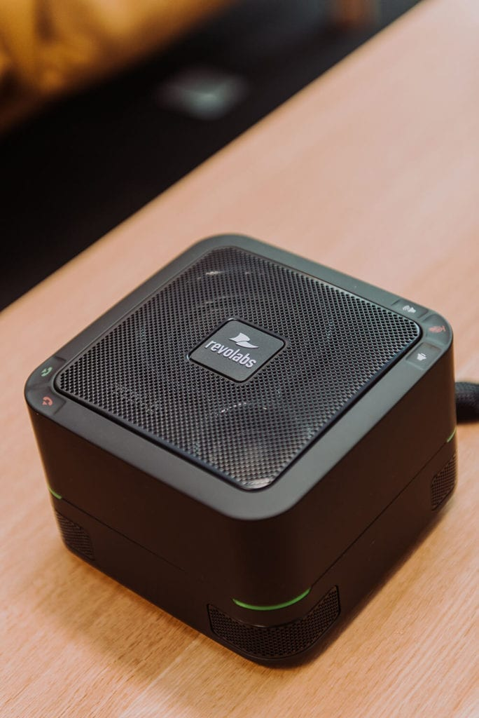 The Berkeley Partnership Revolabs speaker