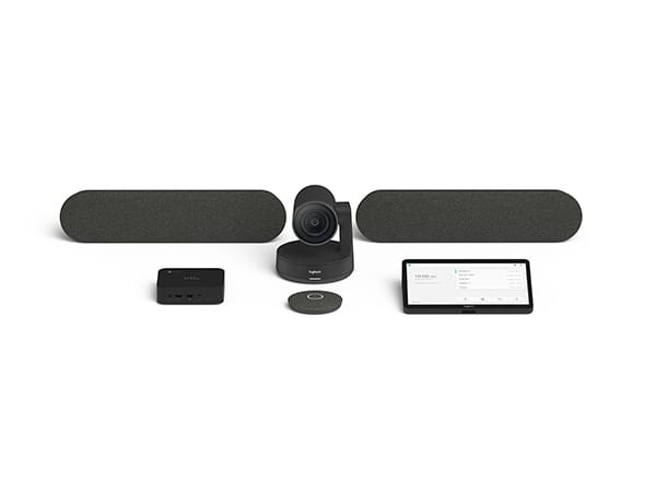 Logitech Tap for Hangouts Meets Large Room Kit