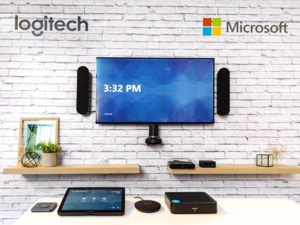 Logitech Tap meeting room AV system