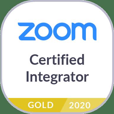 Zoom conferencing gold integrator