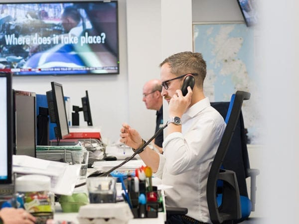 AV emergency call outs