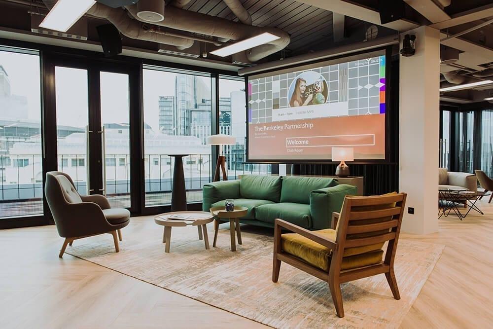 London AV installation by MVS