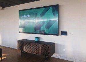 Zoom Room 2x2 Video Wall London